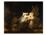 Prayer to Cupid Giclée-Druck von Jean-Honore Fragonard