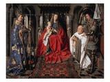 Madonna and Child with Canon Joris van der Paele Giclee Print by Jan Van Eyck