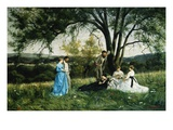 In the Meadow Giclee Print by Henri Pierre Hippolyte Dubois