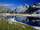 Grand Teton Behind Lake Solitude Photographic Print by James Randklev
