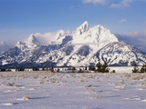 Grand Teton and Jackson Hole Valley Photographic Print by Paul Colangelo