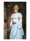 At the Garden Gate Premium Giclee Print by Charles Sillem Lidderdale