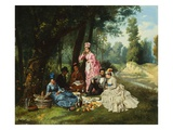 The Picnic Giclee Print by Antonio Garcia Mencia