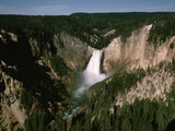 Lower Falls in Yellowstone National Park Photographic Print by Dean Conger