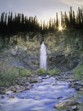 Laughing Falls, Yoho National Park, British Columbia, Canada. Photographic Print by John E Marriott