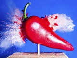 Red Hot Pepper Photographic Print by Alan Sailer