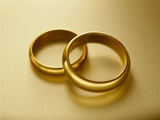 Pair of Wedding Bands Photographic Print by Christopher C Collins