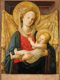 Virgin and Child Photographic Print by Filippo Lippi