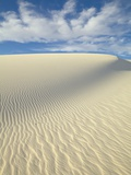 Dune in White Sands National Monument Photographic Print by John Eastcott & Yva Momatiuk