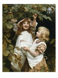 Woodland Harvest Reproduction procédé giclée par Frederick Morgan