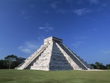 The Pyramid of Kukulkan Photographic Print by Danny Lehman
