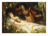 The Sleeping Beauty Giclee Print by Richard Eisermann