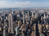 Manhattan Skyline Photographic Print by Cameron Davidson