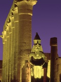 Glow at Luxor Temple Photographic Print by Jim Zuckerman