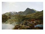 Llyn Y Cwm Fflynnon, North Wales Giclee Print by Sidney Richard Percy