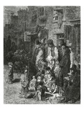 Wentworth Street, Whitechapel Giclee Print by Gustave Doré