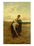 The Gleaners Lmina gicle por Frederick Morgan