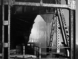 Trestle Bridge Beams Photographic Print by Brian Cencula