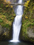 Lower half of Multnomah Falls Photographic Print by Craig Tuttle