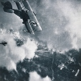 Aerial Combat on the Western Front, WWI Photogravure Photographic Print by Stapleton Collection