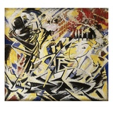 The Dynamic Sensation of the Dance Giclee Print by Jules Schmalzigaug
