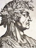Servius Galba, Emperor of Rome Photographic Print by  Antonius