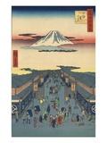Suruga-cho Giclee Print by Ando Hiroshige