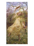 The Spirit of Spring Giclee Print by W. Savage Cooper