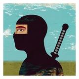 Portrait of a Ninja Giclee Print