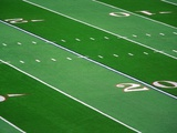 Football Field Photographic Print by L. Clarke