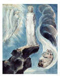 The Third Temptation Giclee Print by William Blake