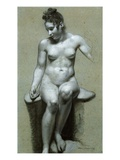 A Seated Female Nude Giclee Print by Pierre-Paul Prud'hon