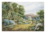An English Country Garden Giclee Print by Henry Stannard