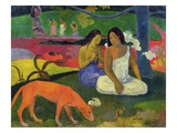 Arearea Giclee Print by Paul Gauguin
