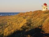 Cove Head Lighthouse, Prince Edward Island National Park, Prince Edward Island, Canada Photographic Print by Miles Ertman