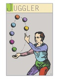 Juggler Giclee Print by Steve Collier