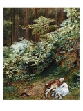 The Children in the Wood, Morning Giclee Print by Richard Redgrave