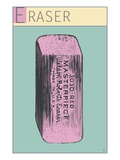 Eraser Giclee Print by  Steve Collier Studio