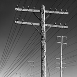 Poles and Wires Photographic Print by Gordon Osmundson