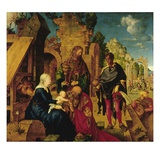 Adoration of the Magi Giclee Print by Albrecht Durer