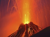 Italy\, Stromboli volcano\, eruptions Photographic Print by Martin Rietze