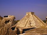 Pyramid of Kukulcan Photographic Print by Michele Westmorland