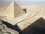 Chephren Pyramid, Giza Photographic Print by Barnabas Bosshart