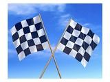 Checkered Flags Impression giclée par Matthias Kulka