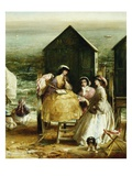 The Bathing Hut Giclee Print by Charles James Lewis