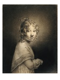 Portrait of a Girl Giclee Print by Louis Leopold Boilly