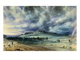 Old Sarum Gicléedruk van John Constable