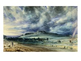 Old Sarum Premium Giclee Print by John Constable
