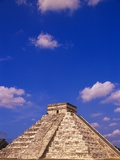 Clouds Hanging Over Pyramid of Kukulcan Photographic Print by Michele Westmorland