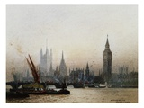 Westminster, London Giclee Print by Fred E.J. Goff